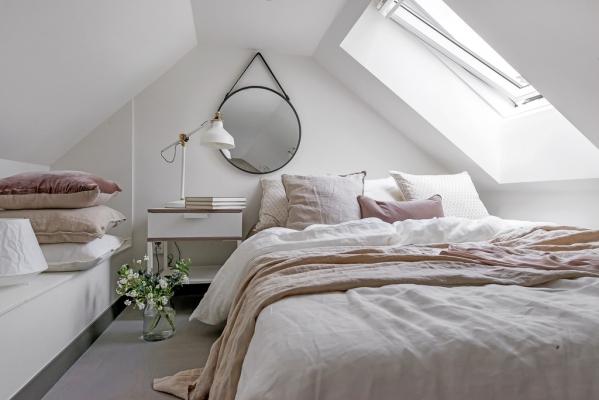 cosy attic bedroom