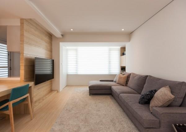 3 rooms apartment interior