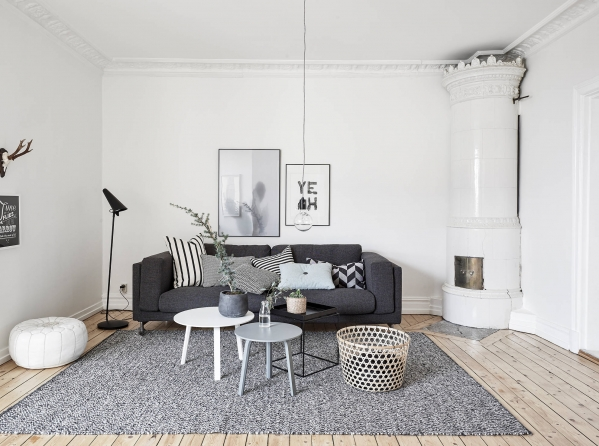 scandinaviann living room