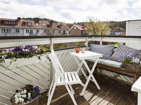 jaukus balkonas