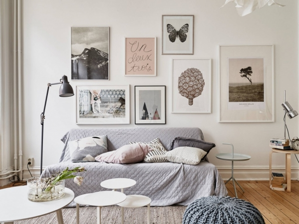 scandinavian interior paintings