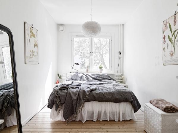skandinaviskas miegamasis