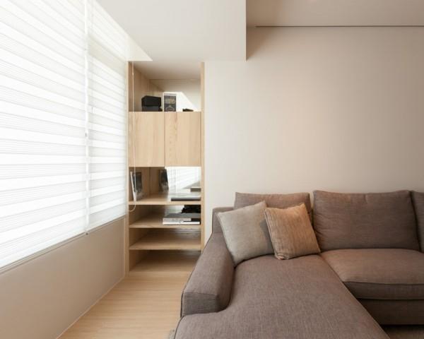 minimalistic shelves