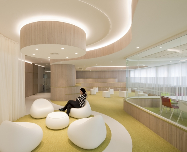 round forms interior design