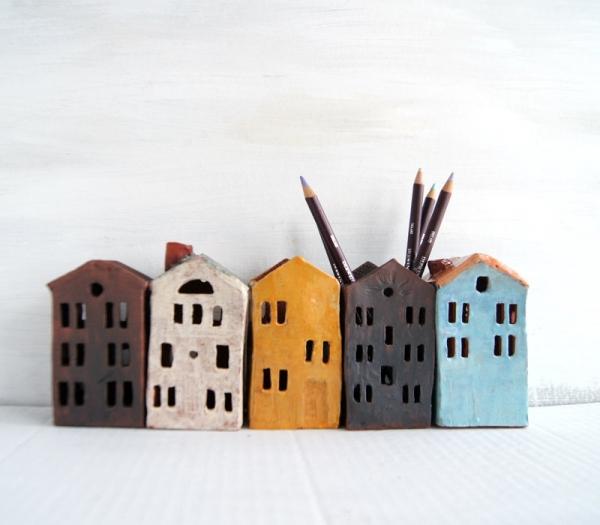 ceramic pencil holder