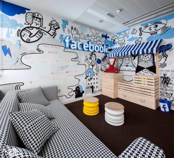 facebook office interior