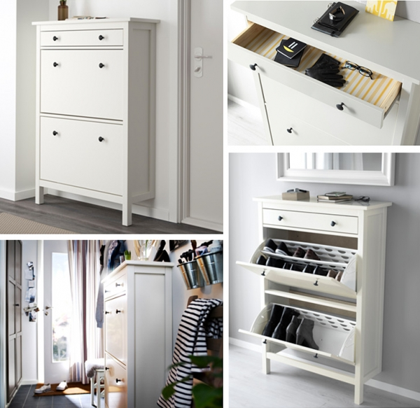 narrow shoe cabinet