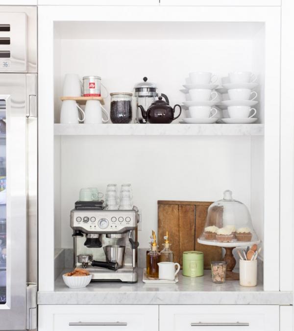 kavos aparato vieta virtuveje