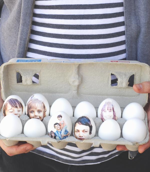 kiaušiniai dekupažas