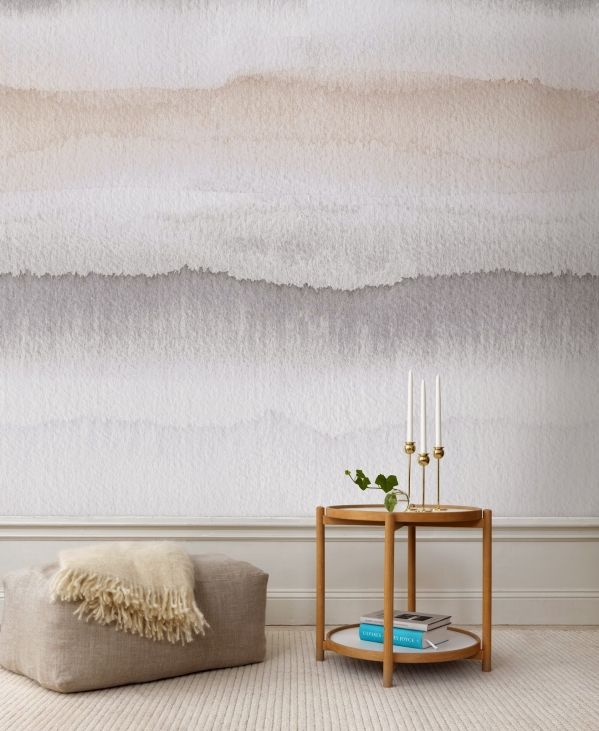 ombre walls interior