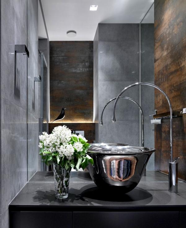 grey bathroo design