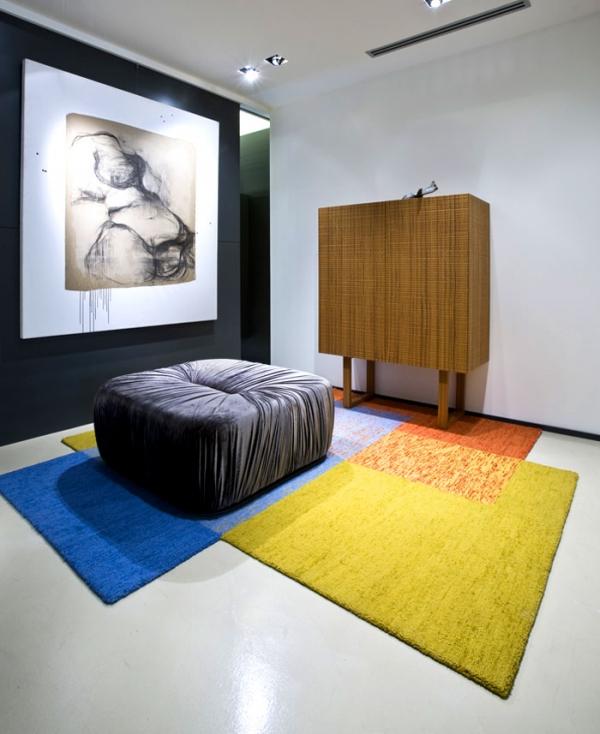 spalvotas kilimas