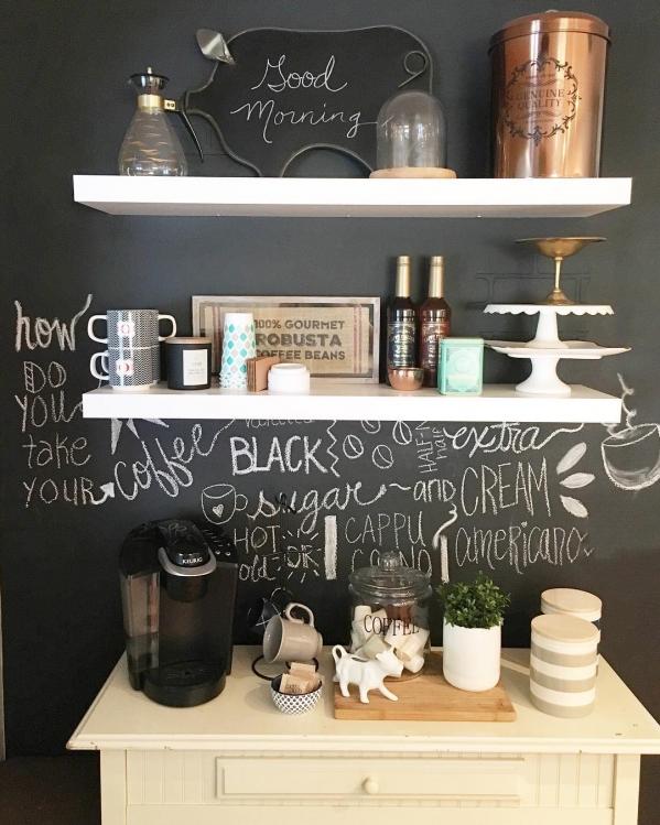 kavos ruosimo vieta namuose