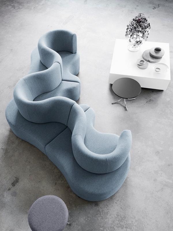round sofa design