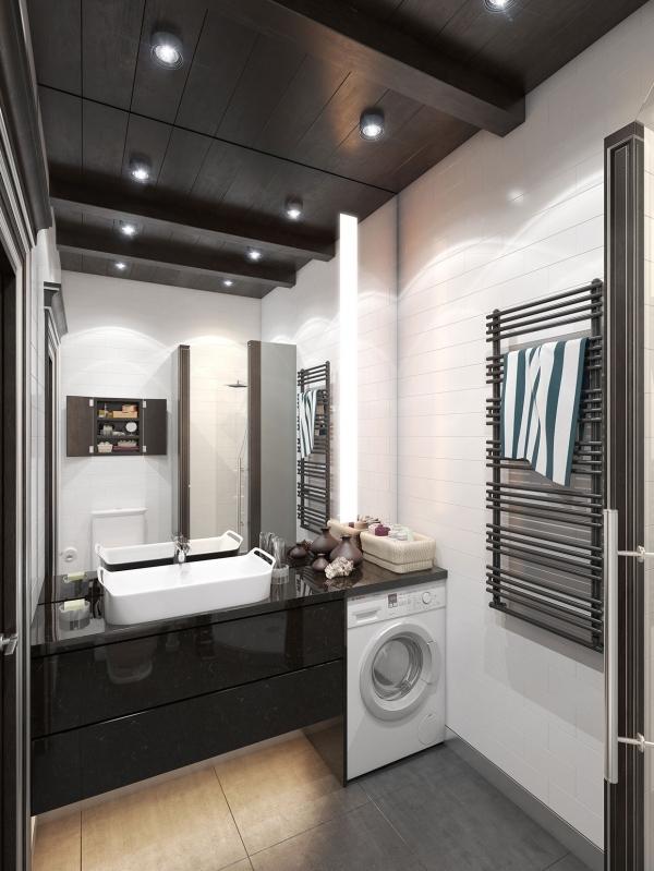 skalbimo masina vonioje
