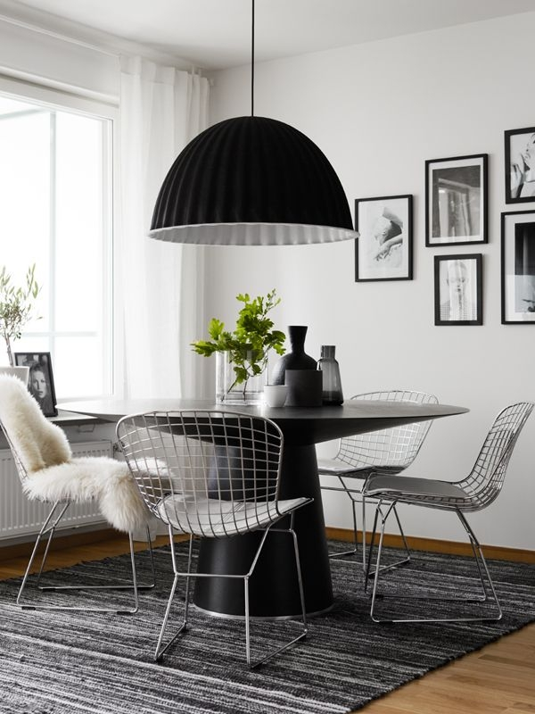 muuto lamp dining room