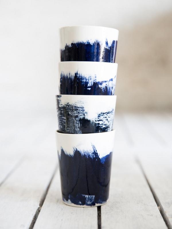 keraminiai puodeliai