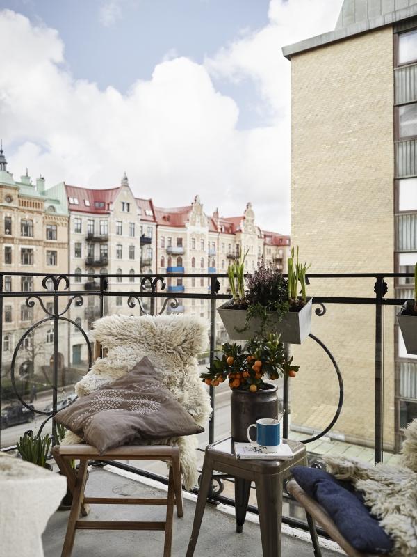 kaip padaryti balkona jaukesniu