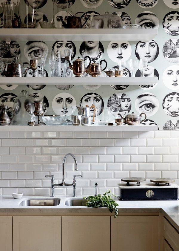 virtuvės sienų dekoras