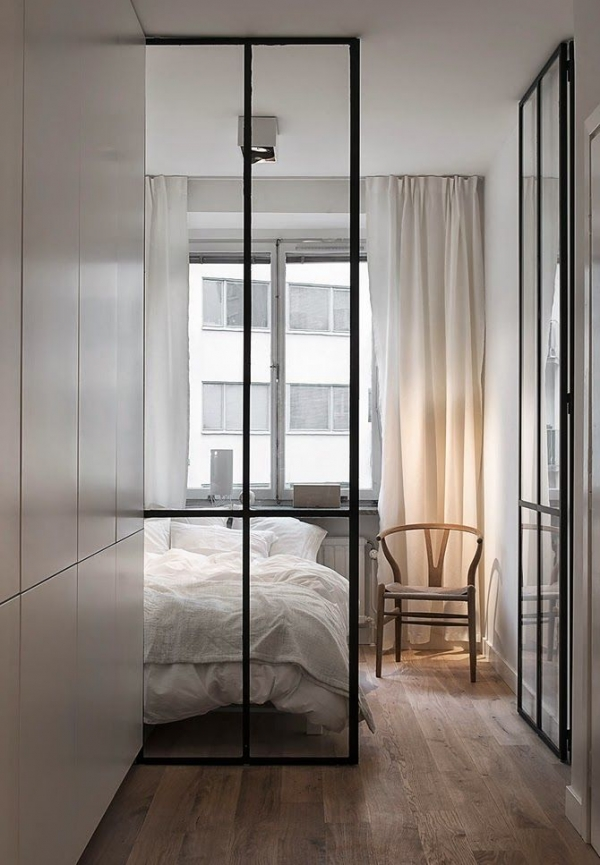 bedroom partition ideas