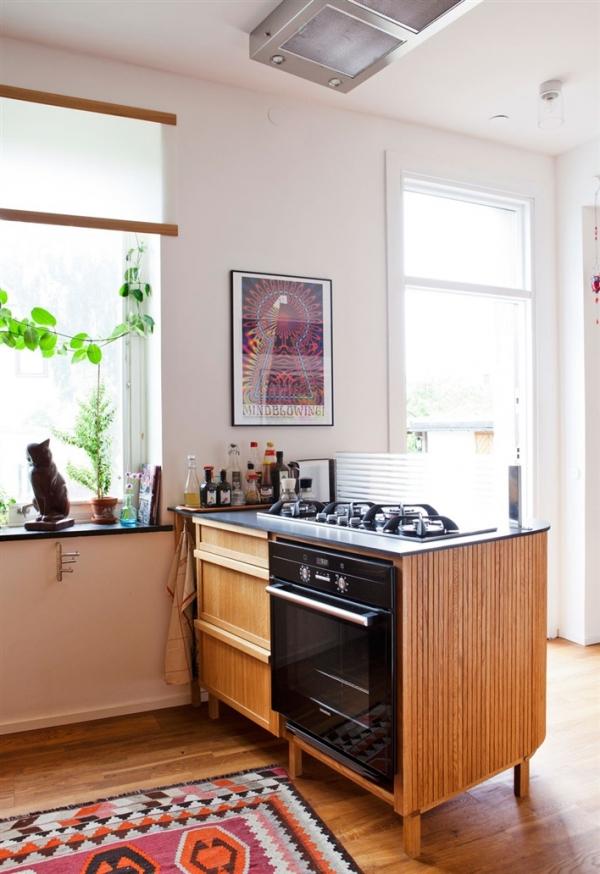 orkaite virtuves saloje