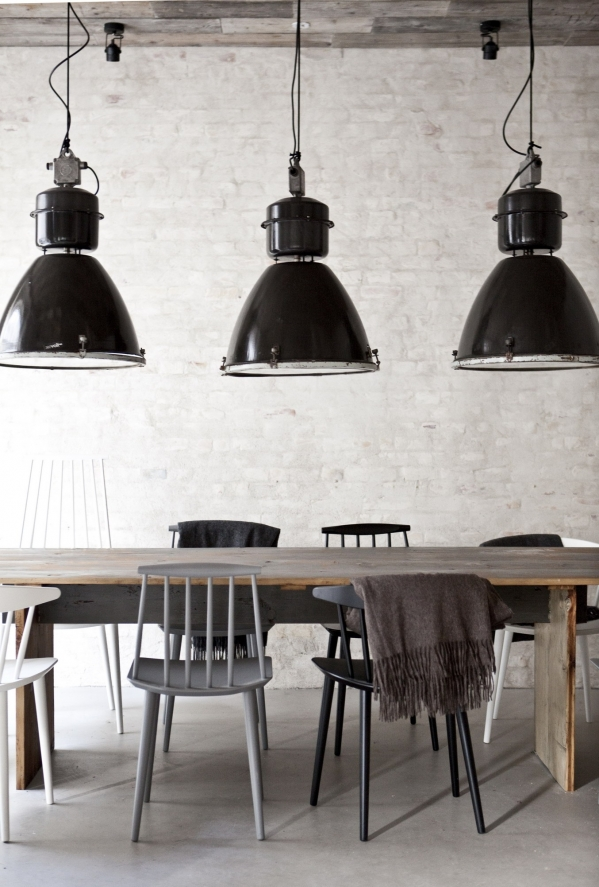 industric style lights