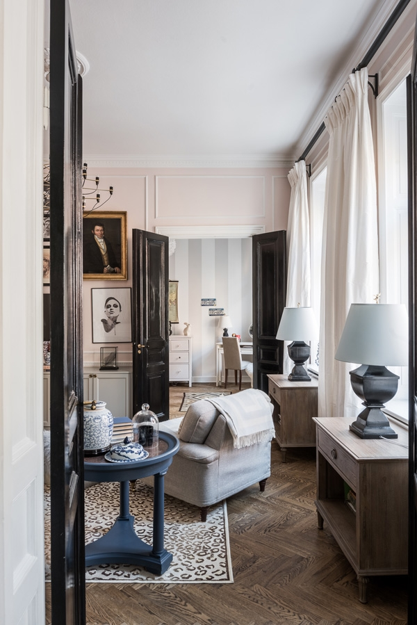 french glamour interior details