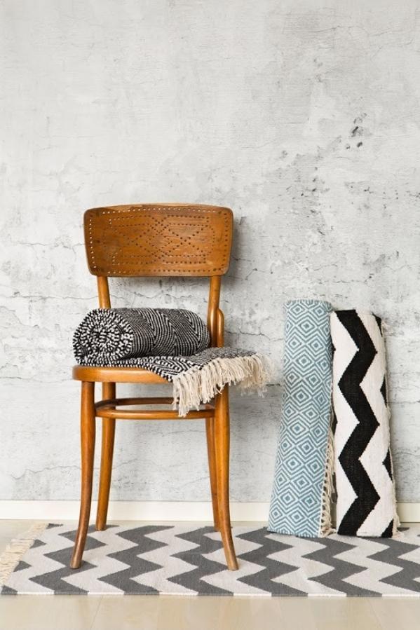 skandinavisko stiliaus kilimai