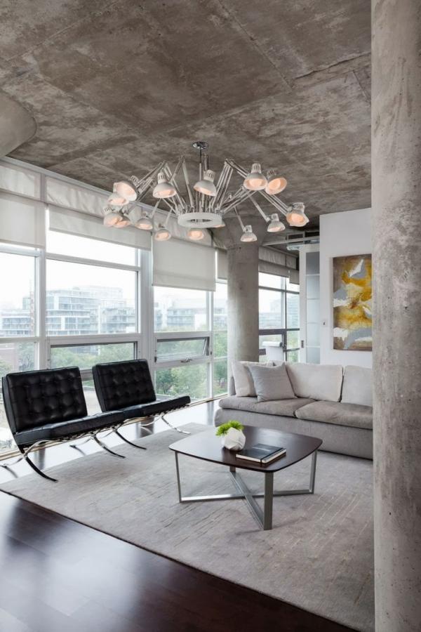 betoninės lubos