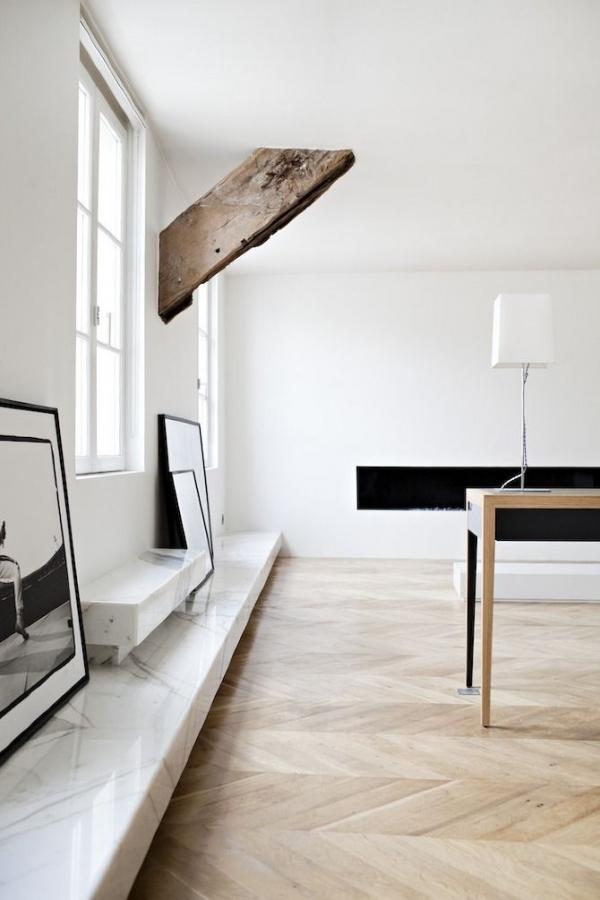 minimalistinis interjeras