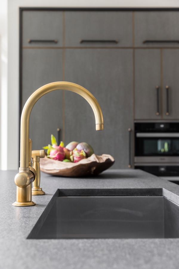 golden kitchen mixer