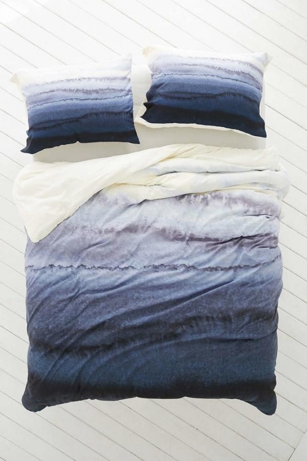ombre bedsheet