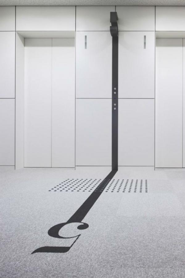 elevator marking