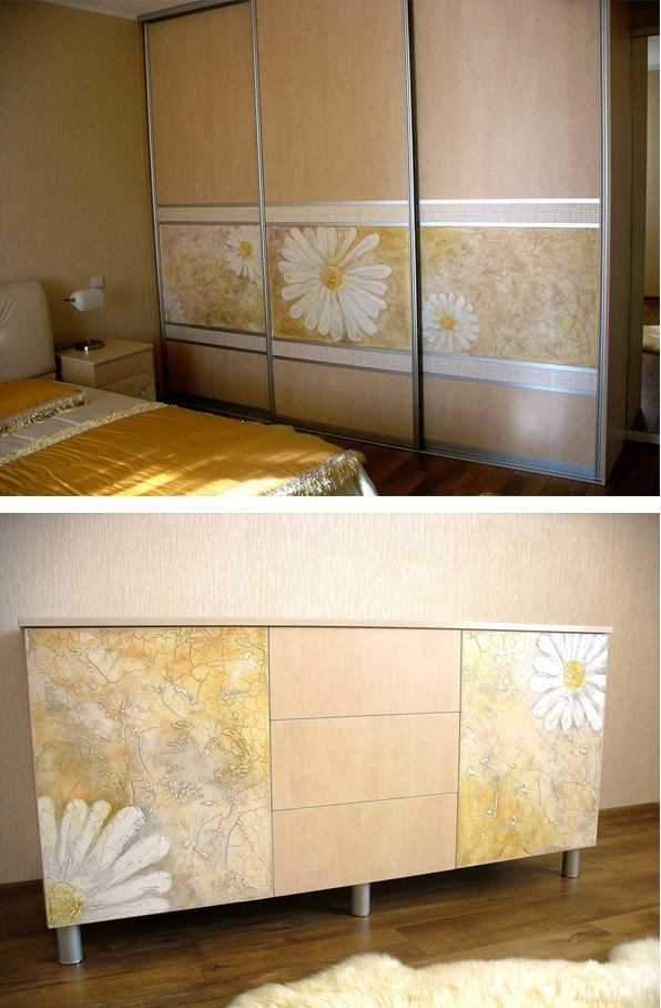 baldu dekoravimas