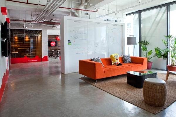 šiuolaikiškas ofiso interjeras