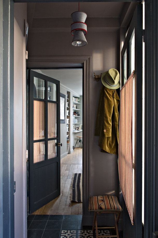 small apartment in paris