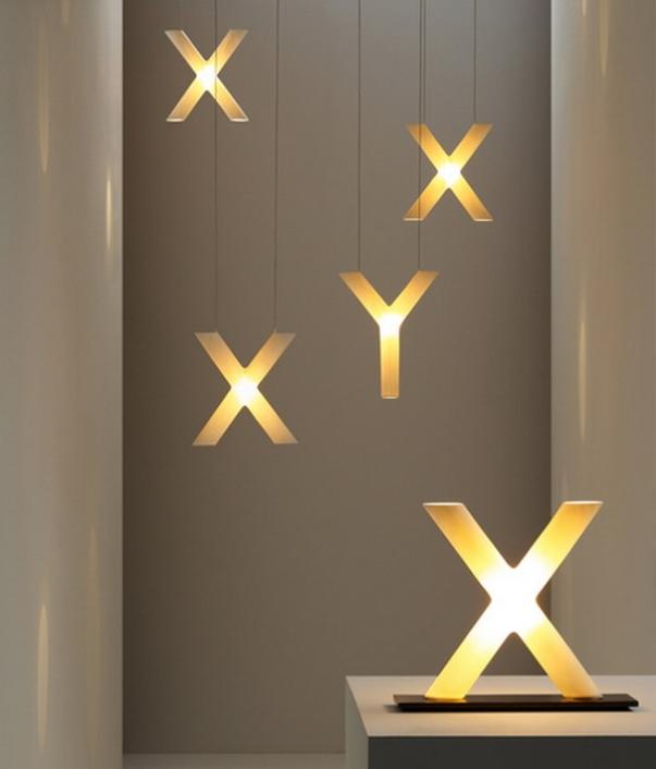 letters - light