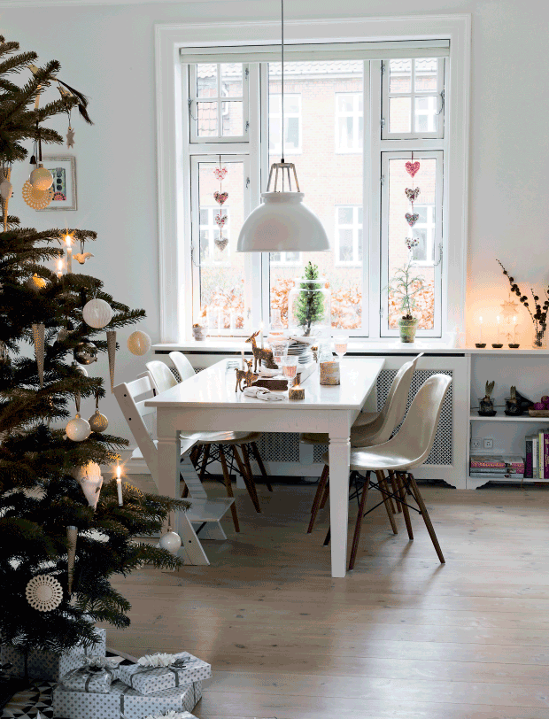 cosy christmas interior