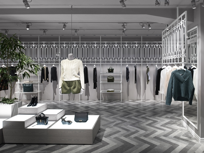 clothes shop concept