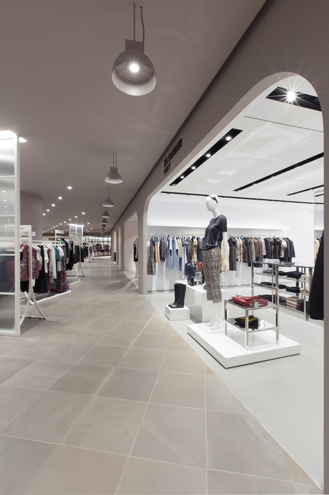 clothes shop interior