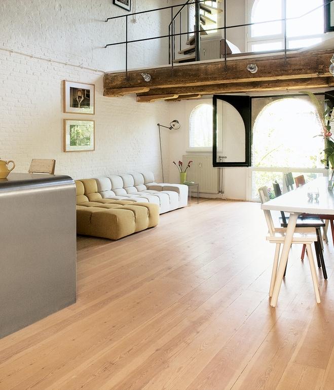 lofto stiliaus butas
