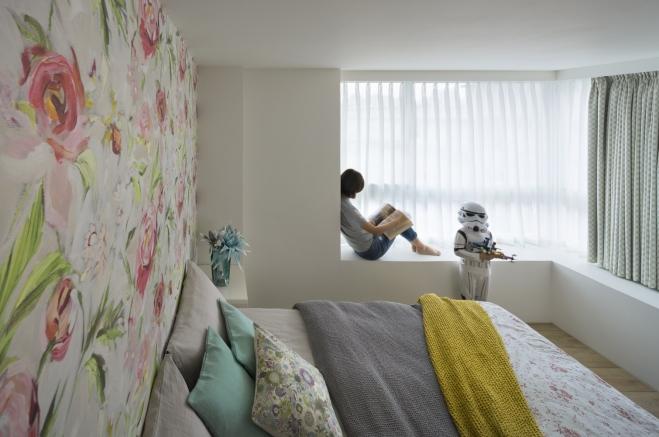 geleta siena miegamajame