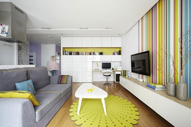 colorful apartment