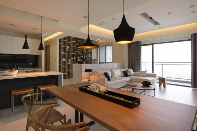 Modernus stilius skandinaviški baldai