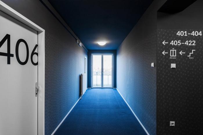 hotel corridor design