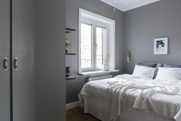 miegamasis pilkos sienos