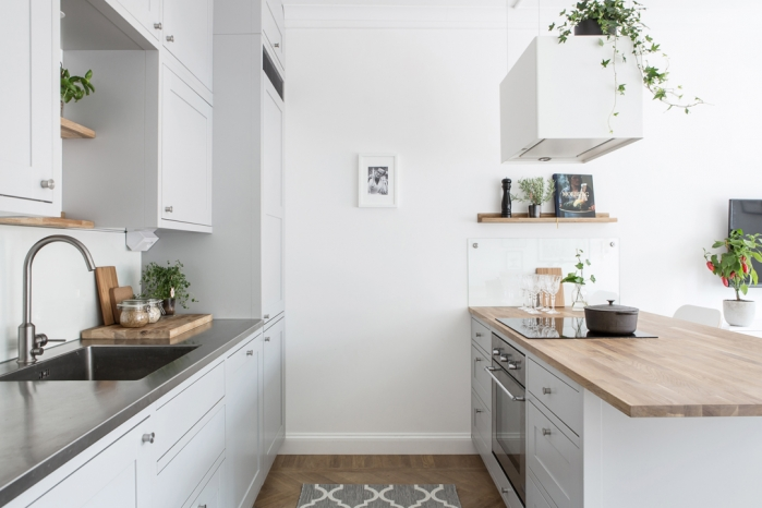 small apartment in scandinavian style