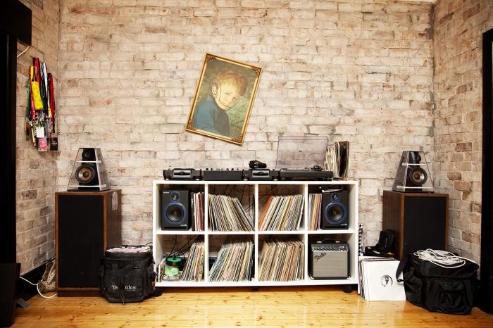 vinyl records storage ideas