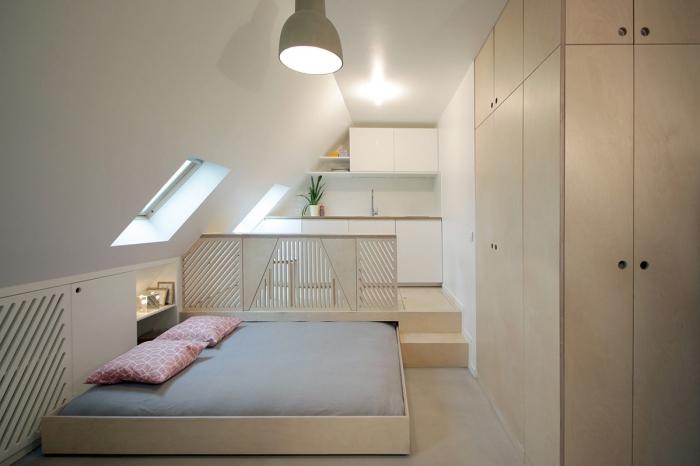 space saving interjeras