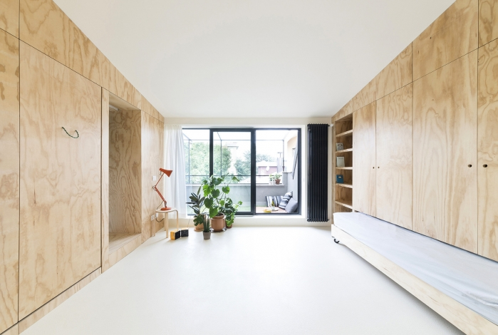 plywood interior ideas